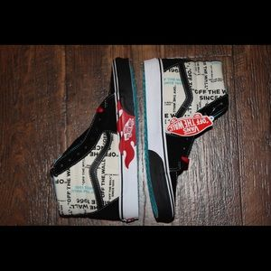 Vans Shoes - Vans SK8-Hi Off The Wall Flame Men Size 9.5